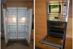 BS3 - Keuken met 2 koelkasten, oven en microgolfoven